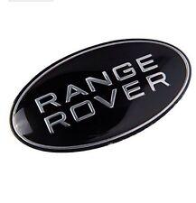 RANGE ROVER BLACK BADGE EMBLEM FRONT/REAR FREELANDER EVOQUE DEFENDER VOGUE