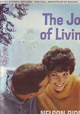 pochette de disque uniquement (pas de disque) The joy  of living (nelson riddle)