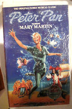 Peter Pan starring Mary Martin Clamshell VHS Tape 30th Ann. Ed. FACTORY SEALED