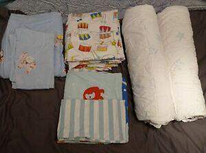 Ikea Kids bedding bundle 100% cotton 2 duvets, 3 covers, 3 pillowslips
