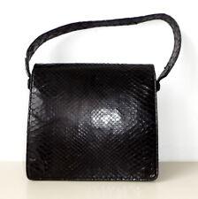 Vintage  kleine schwarz Tasche Ledertasche Leder bag alt Abendtasche Tragetasche
