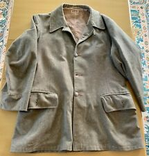 Ww2 Wwii Swedish Sweden Wool Field Jacket Dated 1941 104L Large L Heavy Use