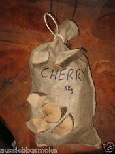 5kg AUSSIE CHERRY BBQ Smoking CHUNKS for Charcoal  BBQs Weber Aldi smoker BBQ