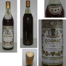 Rare bouteille Cognac ancienne «Cognac Cabanel» années 70's (#2)