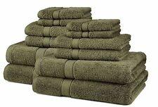 Bath Towel Set Green Moss 12 Piece Cotton Thick Oversized Extra Heavy Soft S