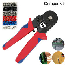 1500Pcs Bootlace Ferrule Crimper Kit Crimping Tool 0.25-6mm² Cord End Ratchet