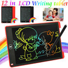 12'' Ultra-thin LCD Writing Drawing Tablet Pad Notepad Practice Board Clipboard