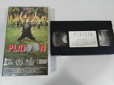 PLATOON OLIVER STONE VHS TAPE CINTA COLECCIONISTA CASTELLANO