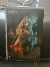 Lady Death Merciless Onslaught 1 Naughty Edition NM/NM+