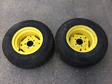 John Deere Rear Tires 23x10.5-12 Lawn Tractor Mower Rims