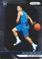 2018-19 Panini Prizm Basketball #250 Jalen Brunson RC Dallas Mavericks