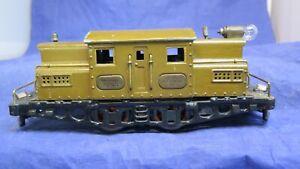 IVES Prewar O Gauge Large 3255 Electric Locomotive! 1925! CT