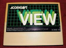 Acorn electron computer Cartridge - ACORNSOFT - VIEW -  Free UK P&P