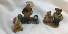 Boyds Bear Resin Figurines