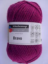"""Wolle-schachenmayr Original """"bravo"""" 50g filato - in 60 Parte dei colori 2 Fb.08309-ciliegio"""