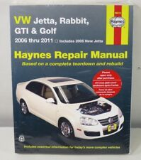Repair Manual Haynes 96019 VW Jetta Rabbit GTI & Golf 2006 thru 2011