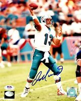 Dan Marino autographed signed 8x10 photo Miami Dolphins PSA COA Pittsburgh