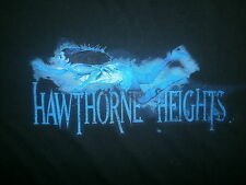 2XL HAWTHORNE HEIGHTS LONELY T SHIRT If Only You Were Band Concert Tour Tee XXL