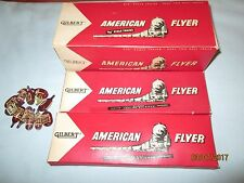Scarce American Flyer #23025 Dealer Box w/2 Individual Smoke Cartridge Boxes