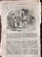 M6-9w Ephemera 1850 Picture The Organ Boys Of London