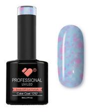 1292 linea VB YOGURT Luce Blu Neon Glitter-Smalto Gel-Smalto Gel Super