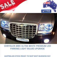 Chrysler 300C ULTRA WHITE Premium LED Parking Parker Lights Globes Bulbs Upgrade