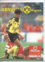 BORUSSIA DORTMUND - 1.FC NÜRNBERG, 07.05.1994, Programm Bundesliga Saison 93/94