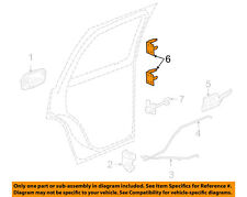 GM OEM Lock -Rear Door-Hinge Left 12476451