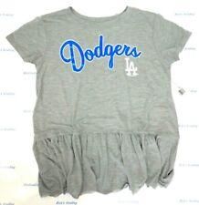 Los Angeles Dodgers Women's Touch by Alyssa Milano Mascot Peplum Tee Shirt 855