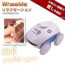 NEU Entspannung Roboter WheeMe blau Massage aus Japan