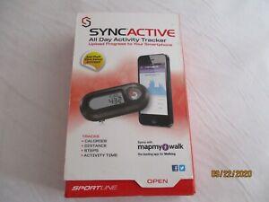 New SYNCACTIVE All Day Activity Tracker Upload Progress To Smartphone NIB. 2013