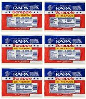 RAPA Scrapple with Bacon 16 Oz (6 Pack)