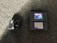 Black Nintendo DS Lite Handheld Console with game and charger