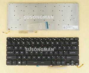 New UK for MSI GS40 6QD Phantom, GS40 6QE Phantom MS-14A2 Keyboard White backlit