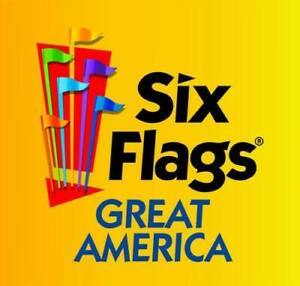 SIX FLAGS GREAT AMERICA Child / Youth Ticket, One day Admission, EXP 8/31/21