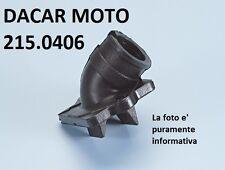 215.0406 COLLETTORE ASPIRAZIONE CARB.ORIGINALE POLINI PIAGGIO  ZIP 50 AIR