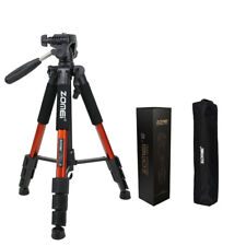 "Zomei 55"" Orange Professional Camera Tripod+ Bag For Smart Phone iPhone Samsung"