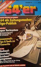 64er Sonderheft 39 (Giga Publish, Mastertext, VPS)  Heft + Diskette 100% ok