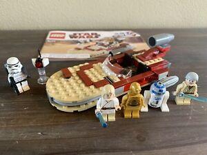 LEGO • Star Wars • #8092 • LUKE'S LANDSPEEDER • 100% Complete with Manual