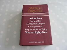 GEORGE ORWELL OMNIBUS INC ANIMAL FARM, 1984, BURMESE DAYS, COMING UP FOR AIR ETC