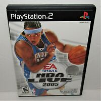 NBA Live 2005 (Sony PlayStation 2, 2004) Complete Tested & Working