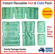 Medi Heat Packs, Instant Hot Pack, Reusable Heat pack, Family Bundle Heat Packs