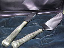 TIFFANY & Co Sterling Silver Cheese Knives Cutlery Circa 1960