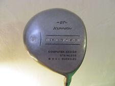 "42 3/4"" Kunnan Bio Tech 21 Degree #5 Wood. 80-100 Graphite Shaft. Low Torque."