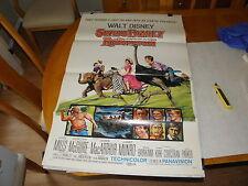 Walt Disney Swiss Family Robinson R69 rerelease US 1-Sheet 3 fold VERY FINE NICE