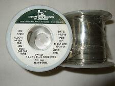 FLUX CORE SOLDER WIRE 1.8-2.5% 0.048DIA ALLOY(96.5 SN 3 AG 0.5 CU)  0.45KG  S085