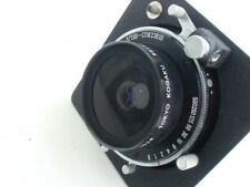 Super Topcor 65mm /f 7.0 lens, Seiko shutter & Horseman lensboard (9013123)