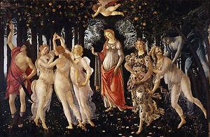 Primavera by Sandro Botticelli Giclee Fine Art Canvas Print