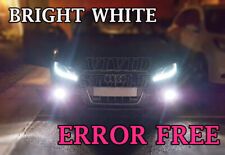 AUDI A4 B8 B8.5 FOGLIGHT BRIGHT 6500K XENON COOL WHITE LED LIGHT BULBS- CANBUS