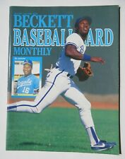 BO JCKSON Beckett Baseball Card Magazine Monthly Price Guide June 1989 ROYALS